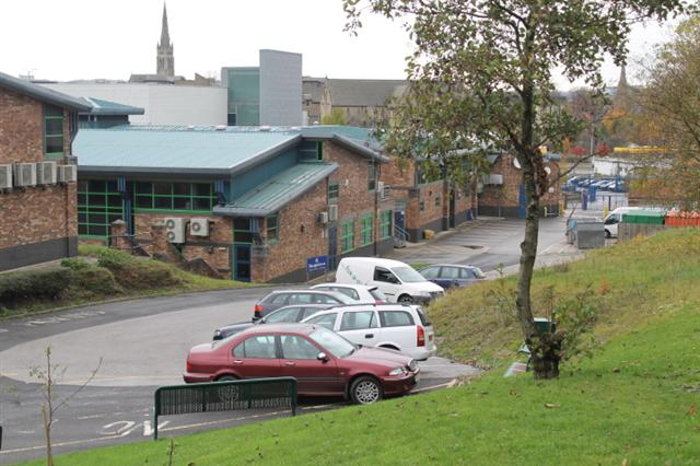 2. Car park of Dixons City Academy