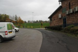 3.     Car park leading to rear of school and playing fields